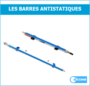 barre antistatique ionisante