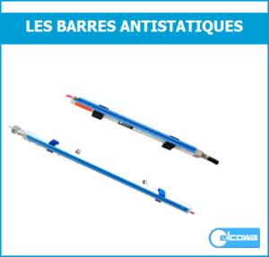 barre antistatique ionisante