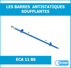 barres antistatiques ionisantes