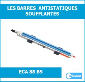 barre électrode de décharge ionisante soufflante