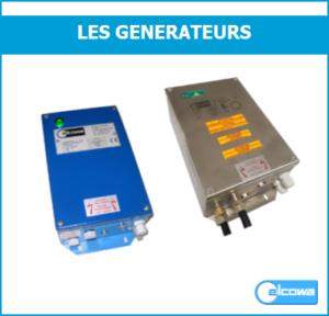 générateur haute tension ionisation inox
