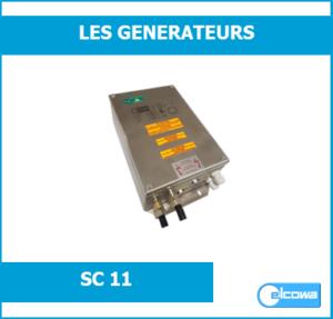 Générateur d'ionisation haute tension inox