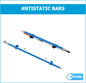 discharge anti-static bars