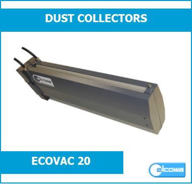 double-sided paper ionizing dust collector