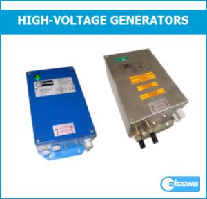 high voltage generator stainless steel