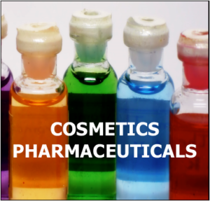 cosmetics pharmaceuticals ionizing