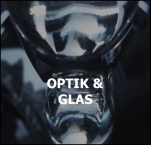industrie optique verre électricité statique